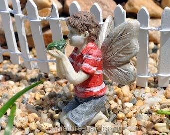 Fairy Ethan for Miniature Garden, Fairy Garden