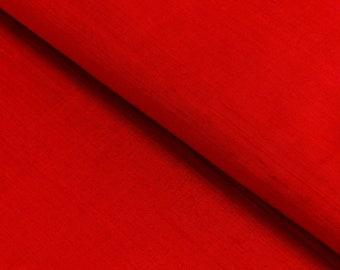 "Red Dupioni silk 100% silk fabric silk fabrics, ""fabrics-City"", 4274"