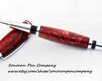 Caballero Red Desert Dawn Rollerball pen