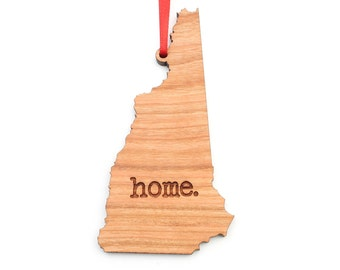 New Hampshire home. Christmas Ornament - NJ New Hampshire Ornament - Home Christmas Ornament