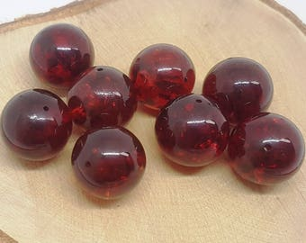 Baltic amber beads.Red amber.Baltic amber jewelry.Natural jewelry.Amber beads.