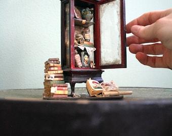 Miniature Cabinet of Curiosity