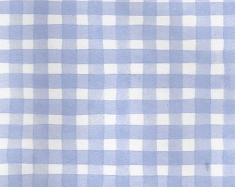 Blue Gingham Wallpaper from Fine Decor Wallcoverings, LTD