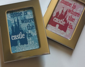 "DISNEY MAGNETS - Show your ""home"" is near one of Disney's castles with these magnets! 