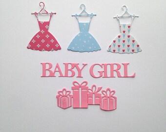 Cuts scrapbooking dress baby girl gift baby girl princess fairy scrapbooking embellishment Scrapbook die cuts
