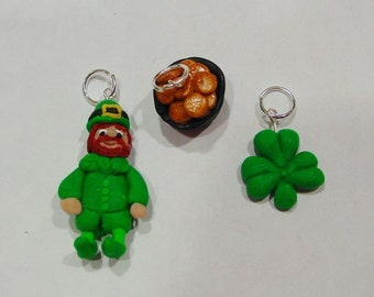 St. Patrick's Day Charms 3 pc.
