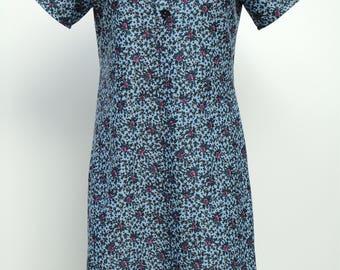Vintage 70s dress Size 40-42 FR