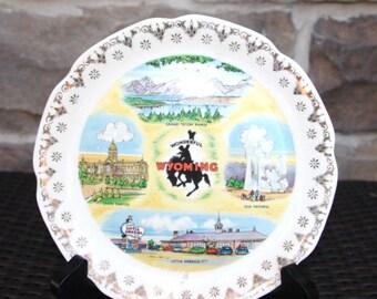 Vintage souvenir plate