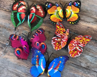 3D Butterfly Hair Clips