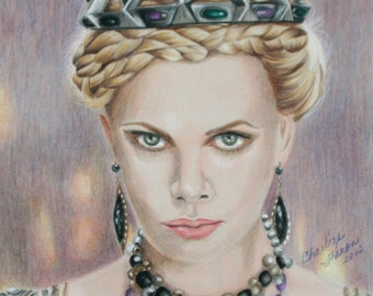 Charlize Theron (Queen Ravenna) Snow White and The Huntsman
