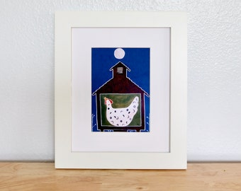 "Giclee Print— ""Midnight Egg"" 5''x7''"