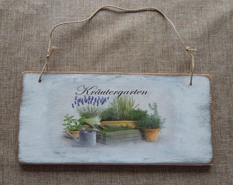 Grandma S Garden Decorative Sign W Stake Garden Sign Door