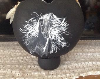 Gourd art Spirit Vase