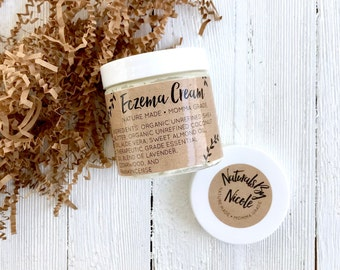 Eczema Cream - Eczema Relief - Organic Body Lotion - Lotion for Dry Skin -