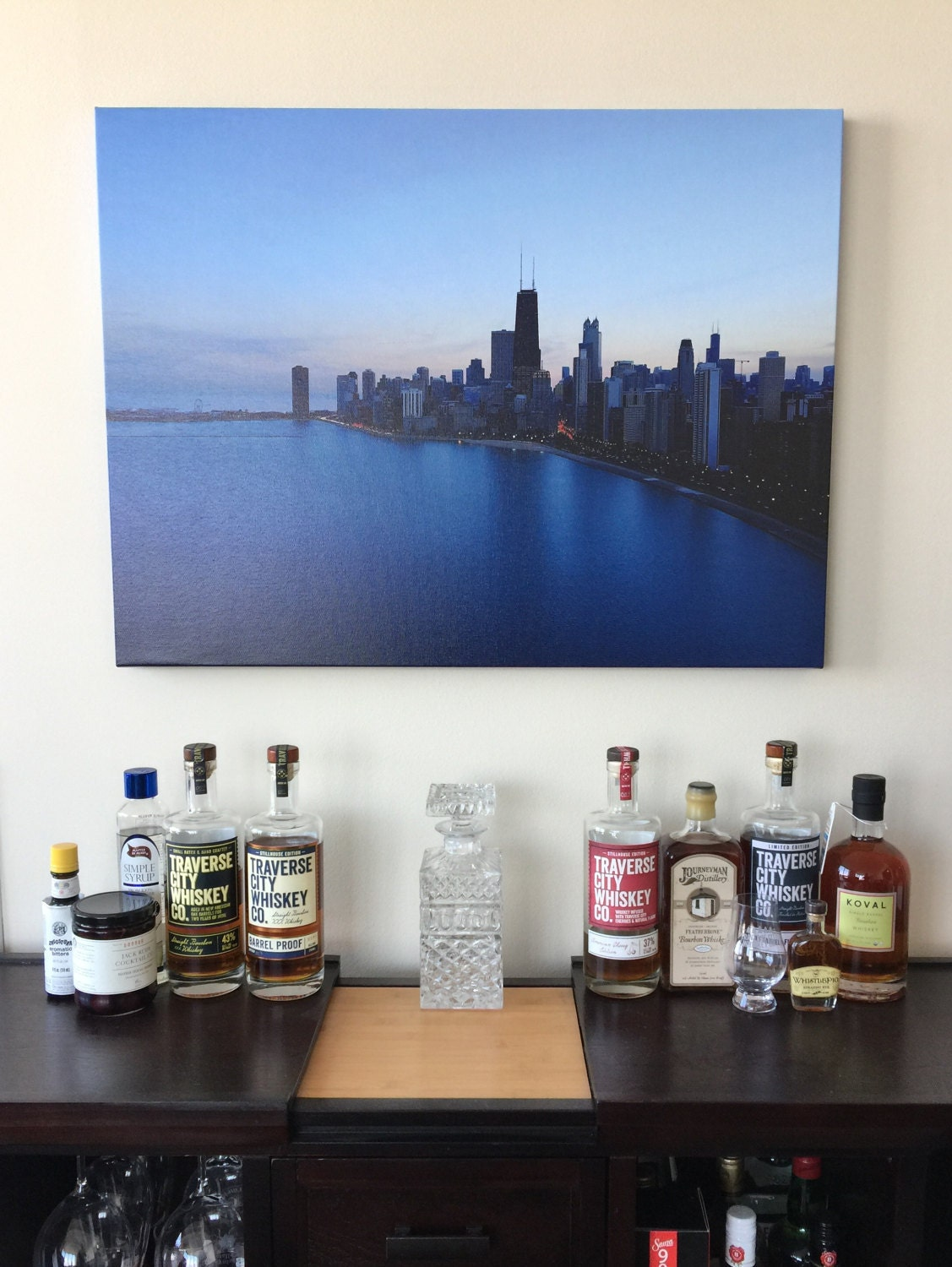 Sunsets In Chicago   Office And Wall Art, Urban Art, Chicago Art, Chicago  Picture, Chicago Canvas, Chicago Wall Art, Chicago Photography