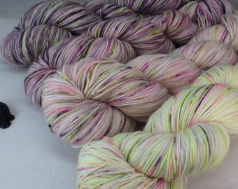 Fade These, Set of Four Hand Dyed Sock Yarns