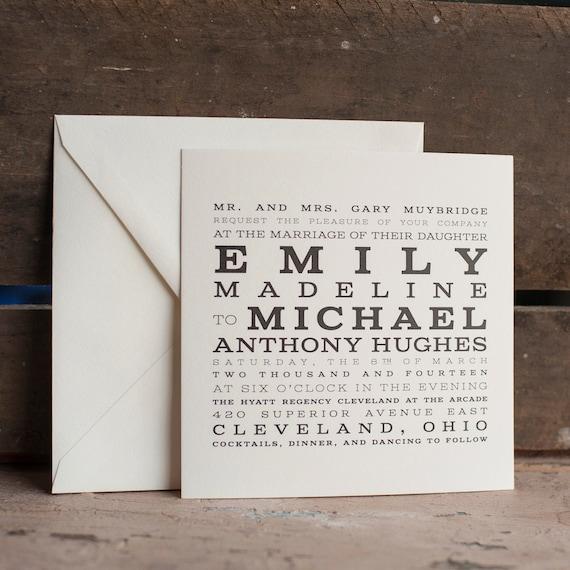 Wedding Invitations Starboard Press
