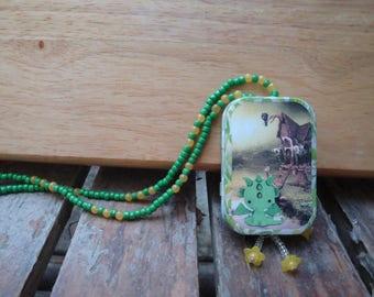 Altoids tin, small tin, Pocket Locket, little Dragon