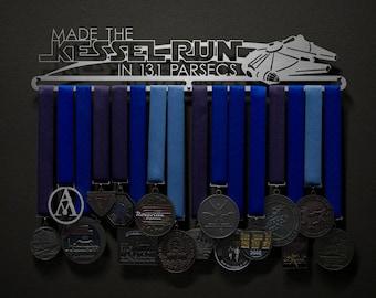Made The Kessel Run in 13.1 Parsecs - Allied Medal Hanger Holder Display Rack