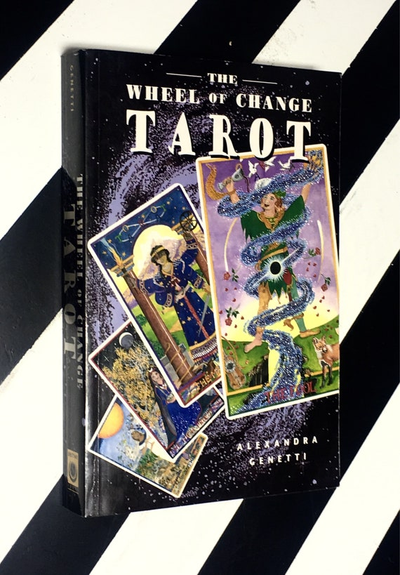 The Wheel of Change Tarot by Alexandra Genetti (1997) softcover book