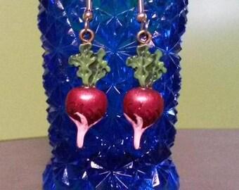 Short Time SALE Luna Lovegood Inspired Radish Earrings