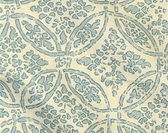 Designer Pillow Cover - Lumbar, 16 x 16, 18 x 18, 20 x 20, 22 x 22, Euro - MDLA Batik Medallion - Pool
