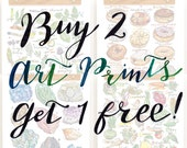 Buy any two art prints, get the third free.