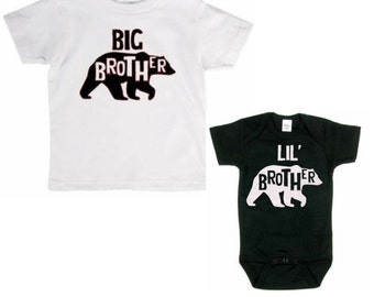 Big brother and lil brother set