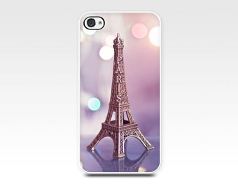 iphone 5s case 6 iphone 4 4s paris Eiffel tower photo case photography case pastel pink mini Eiffel tower smartphone case cell phone girly