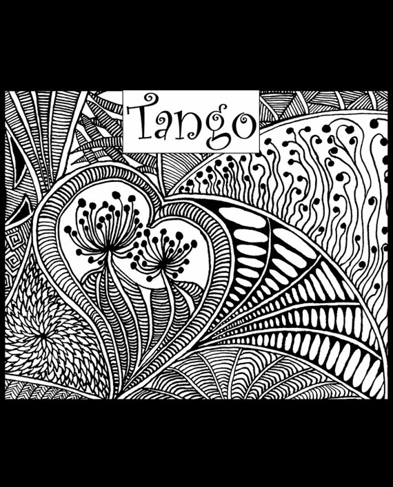 Tango fine art texture stamp by Helen Breil. Unmounted stamp great for polymer claya resin clay, stamping and embossings
