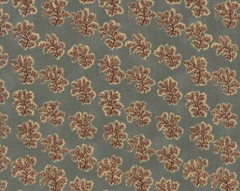 Moda Collections Preservation Quilt Fabric 1/2 Yard By Howard Marcus - Aqua 46236 11