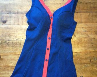 Original vintage 50s bathing suit swimwear