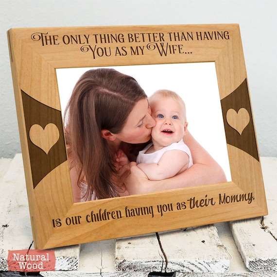 Personalized Picture Frames for Wife - Gift for Wife - Gift for Mom ...