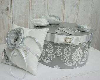 "TO order - wedding Theme ""chic Baroque"" pillow"