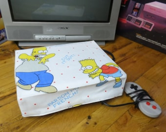 Simpsons WRETRO WRAPPER console dust cover