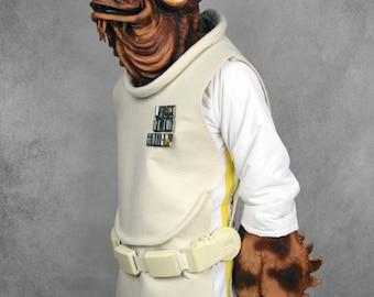 Star Wars - Admiral Ackbar Belt & Rank Insignia