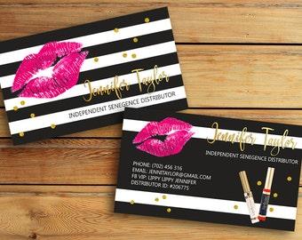 lipsense business cards senegence international lipsense distributor lipsense - Senegence Business Cards