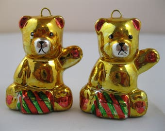 Pair of Christmas Bears
