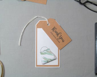 Business Thank You Tags - Small Business Tags - Hand Bag Tags - Purse Tags - Handmade Seller Tags - Thank You Tags – Handmade Business Tags