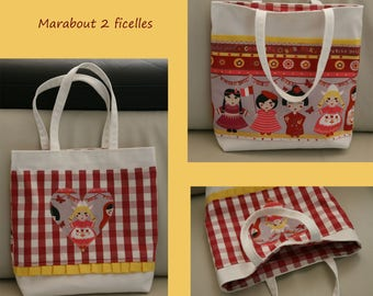 """Bag library girl """"dolls of the world"""""""