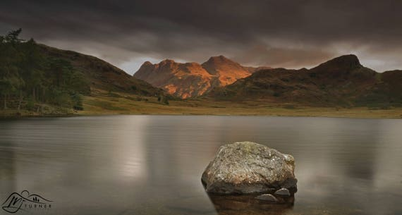 The Langdale Pikes from Blea Tarn [Photographic Print]
