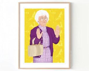 The Golden Girls Sophia Petrillo // Giclée Archival Matte Art Print
