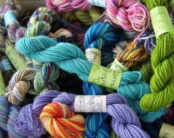 Spring Blossoms - Mini Skeins Fingering Sock Yarn Kit - Mini Mania (10)