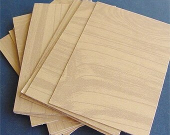 Faux Bois ATC paper 20 blank cards