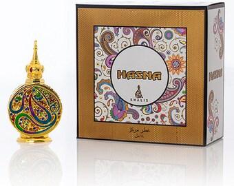 HASNA by Khalis Perfumes, Attar, Itr, Perfume, Fragrance Oil 18 ML