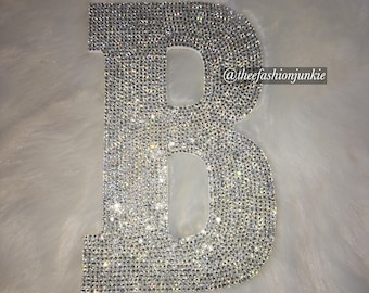 "8"" Bling Wall Decor Letters"