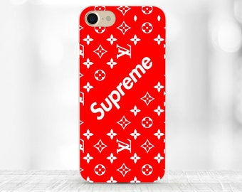 Supreme iPhone case red Supreme Samsung s9 plus case iPhone 7 Supreme Louis Vuitton iPhone 7 plus Supreme case Galaxy s6 case Louis Vuitton