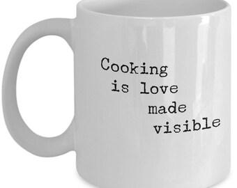 Kitchen Coffee Mug | Gift Mug for Cook  |  Homemade Style