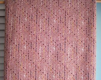 Tissu Polyester Double Knit Vintage Mod Mini Check, abstrait rétro vérifier Double tricot, tissu extensible de Polyester tricot Double Check