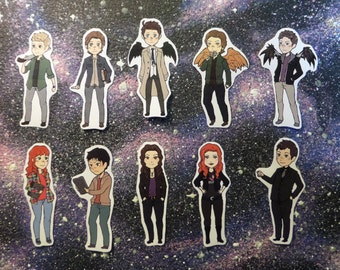 Supernatural Stickers set